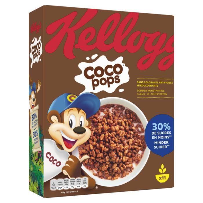 KELLOGG'S Céréales cocopops - 350 g