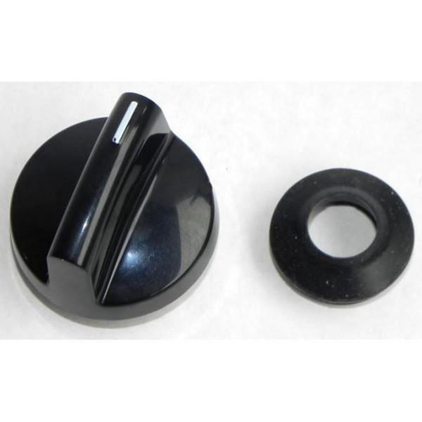 bouton de commande noir table plaque cuisson miele 8339850