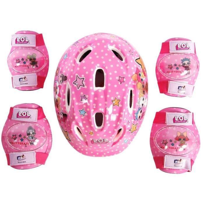 Protections et casque de vélo LOL Surprise