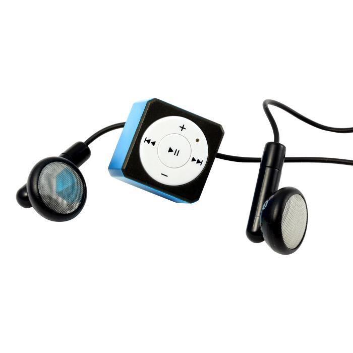 Technaxx Musicman Mini Style TX-52 Lecteur MP3 Bleu