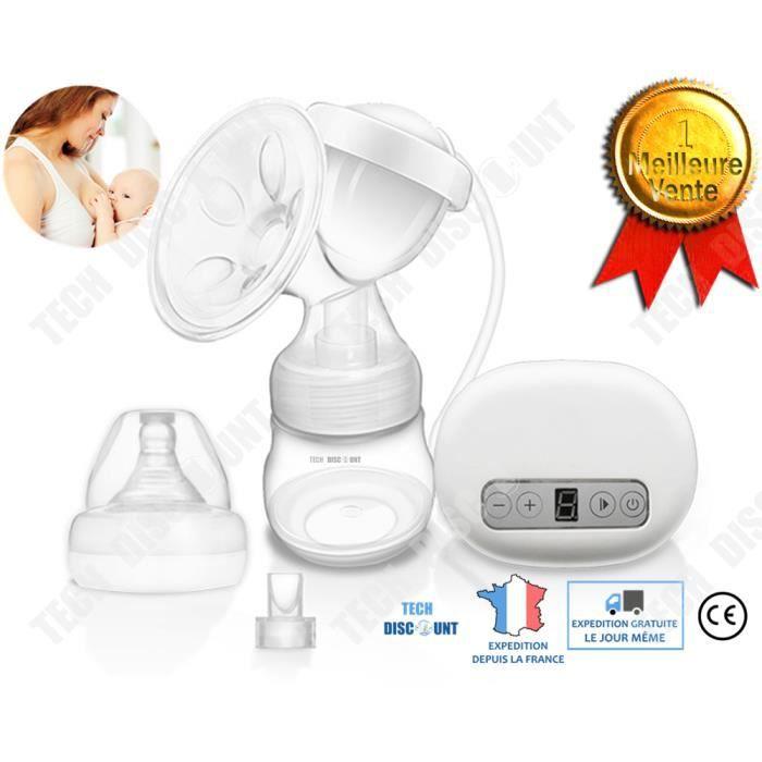 TD® tire lait electrique bebe confort pompe a du sein maternel femmes enceintes nouveau né aspiration 9 frequences portable