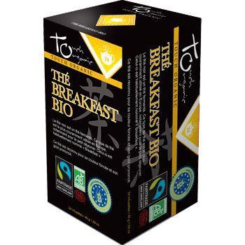 Touch Organic The noir breakfast BIO 24 sachets…