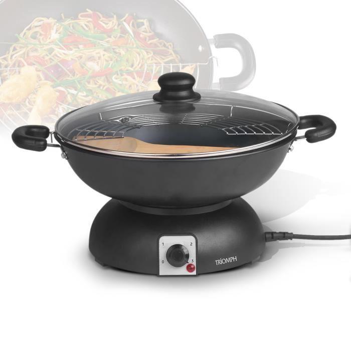 Muli wok électrique - 3.5L 1200W - Triomph ETF1513