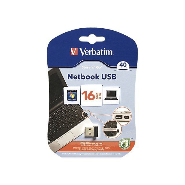 Verbatim Store 'n' Stay USB Drive - Lecteur flash…