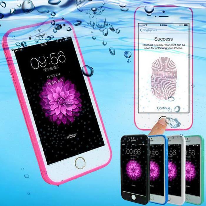 woocon coque etanche pour iphone 6 plus 6s plus s