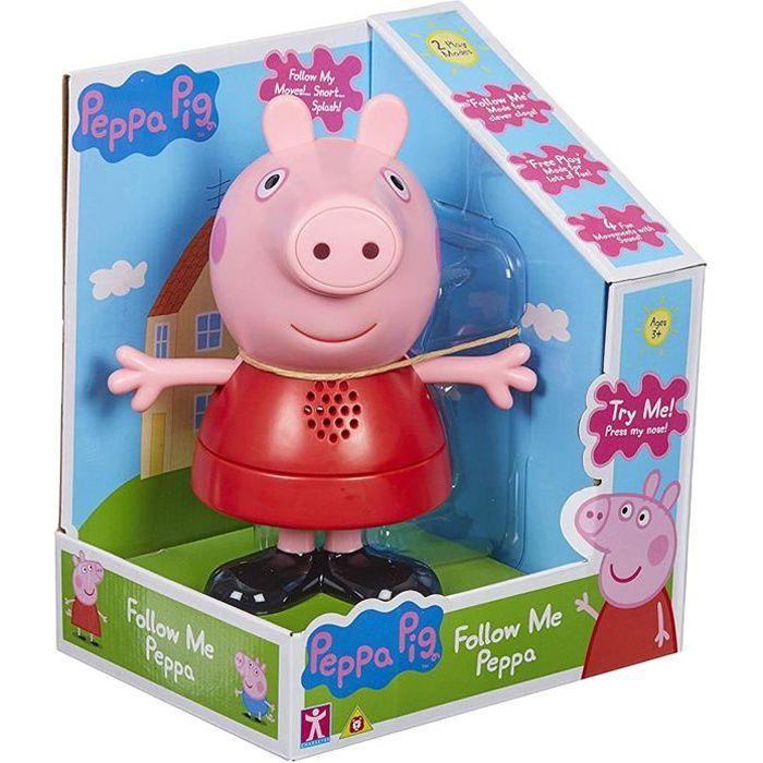 Peppa Pig Suivez Moi Peppa Avec Son Anglais Achat Vente Figurine Personnage Cdiscount