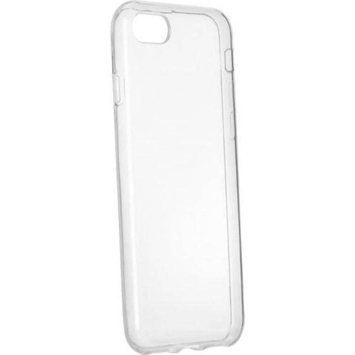 coque iphone 8 transparente en plastique souple