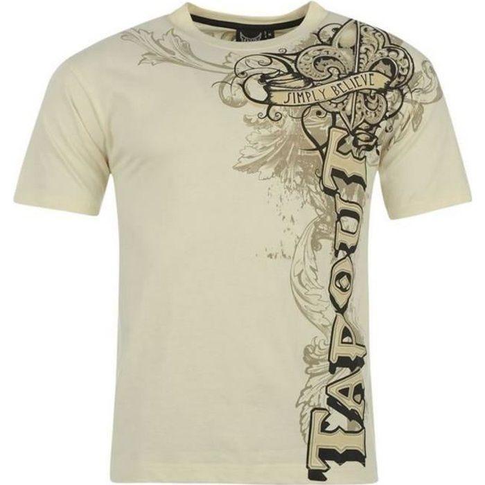 G-Star Homme minerai Raglan Manches T-shirt blanc