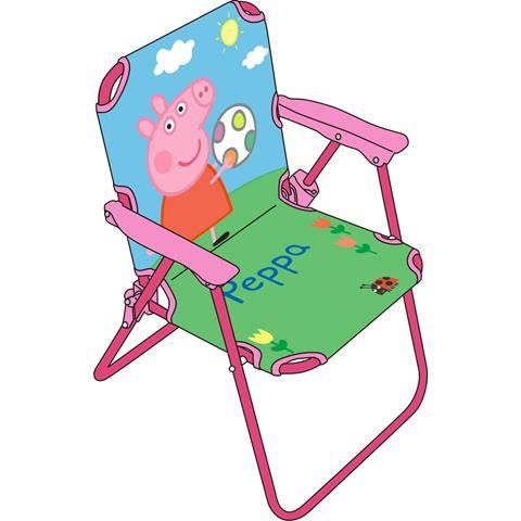 peppa pig chaise pliante chambre enfant achat vente chaise cdiscount. Black Bedroom Furniture Sets. Home Design Ideas