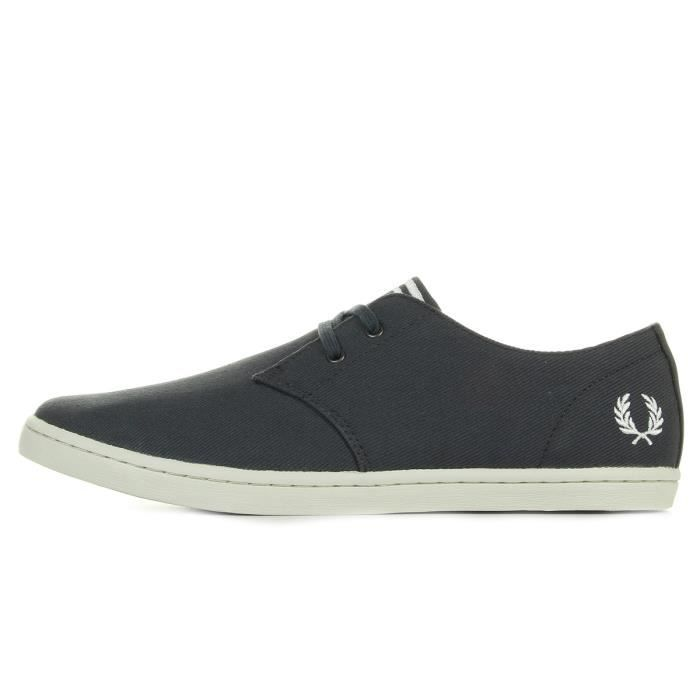 Baskets Fred Perry Byron Low Twill Charcoal