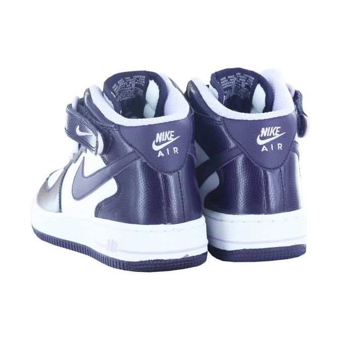 BASKETS AIR FORCE 1 MID JR WHITE…
