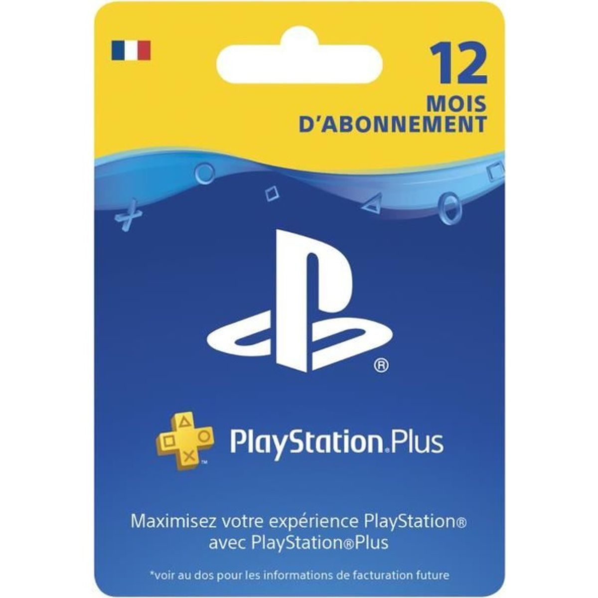 abonnement playstation plus 12 mois psvita ps3 ps4 achat vente abonnement abonnement. Black Bedroom Furniture Sets. Home Design Ideas
