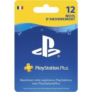 ABONNEMENT Abonnement PlayStation Plus 12 Mois - PS4-PS3-PSVi