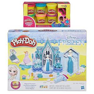 JEU DE COLORIAGE - DESSIN - POCHOIR fontaine magique gelée play-doh disney + paquet de