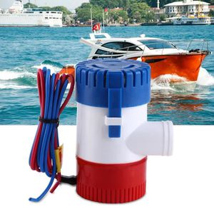 POMPE DE CALE 12V Pompe à eau de cale 1100 GPH entièrement subme