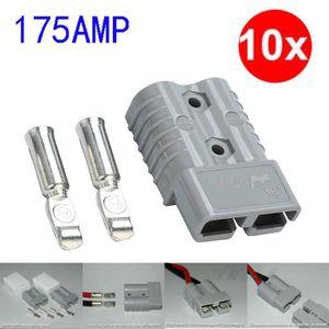 CHARGEUR DE BATTERIE 10 Pack 175Amp Plug Power Pole électrique Chargeur