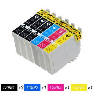 CARTOUCHE IMPRIMANTE 6 Cartouches d'encre Epson 29XL, T2991 Noir, T2992