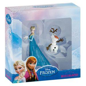 FIGURINE - PERSONNAGE BULLY - Coffret 2 figurines Elsa et Olaf - La Rein