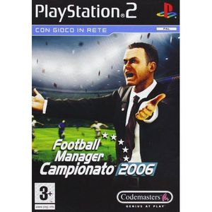 JEU PS2 Football manager 2006 [import italien]