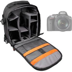SAC PHOTO Sac à dos modulable pour Nikon D7100, D3300, D5200