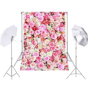 FOND DE STUDIO Fleur Photographie Fond Rouge Rose de Mariage Toil