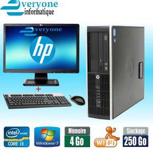 UNITÉ CENTRALE  HP Compaq 6200 Pro Intel Core i3 -2100 RAM 4Go Dis