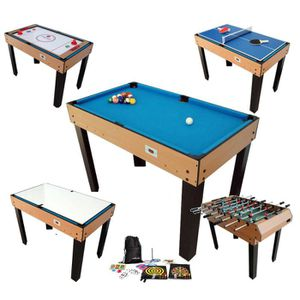 table multi jeux baby foot achat vente jeux et jouets pas chers. Black Bedroom Furniture Sets. Home Design Ideas