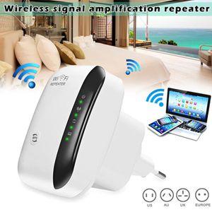 POINT D'ACCÈS Répéteur WiFi sans fil 300 Mbps Super Booster Supe