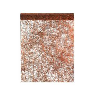 x1 REF//4755 Santex Chemin de Table Fanon cuivre 30cm x 25m