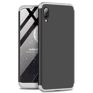 COQUE - BUMPER Huawei Y6 Pro 2019 Coque, 3 en 1 PC Intégrale Rigi