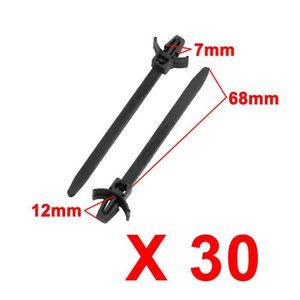 RIVEUTEUSE - PINCE 30pcs 7mm x 88mm en nylon réglable Montage push at