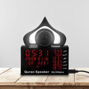 ENCEINTE NOMADE TEMPSA Enceinte bluetooth Azan LED Horloge de Priè