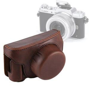 COQUE - HOUSSE - ÉTUI Etui en cuir appareil photo Full Body Camera PU Sa