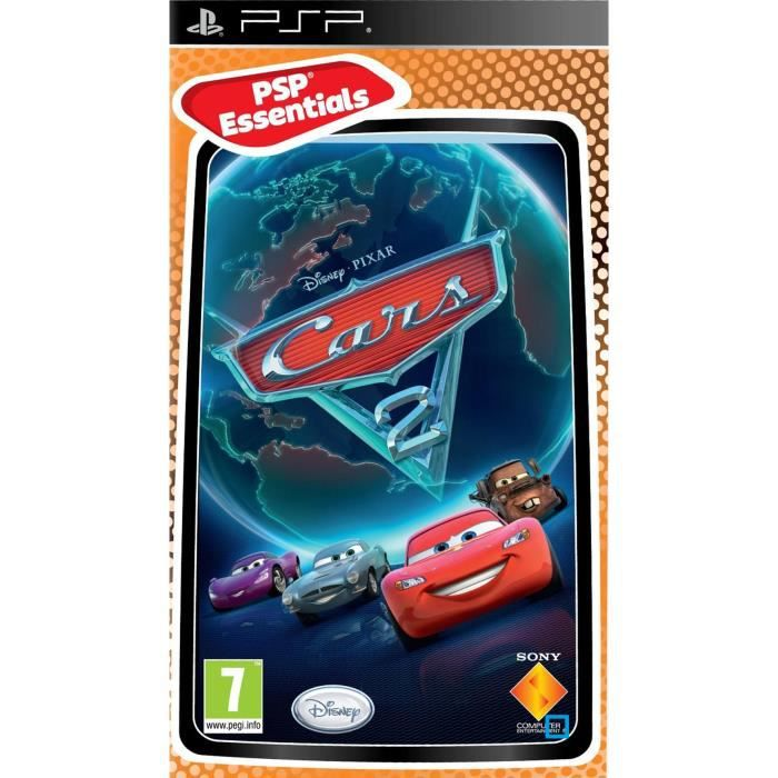 cars 2 essentials jeu console psp achat vente jeu psp cars 2 essentials jeu psp cdiscount. Black Bedroom Furniture Sets. Home Design Ideas