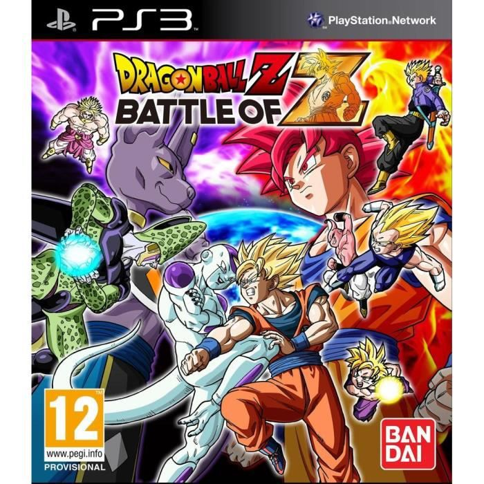 JEU PS3 Dragon Ball Z: Battle Of Z Day One Ed. PS3