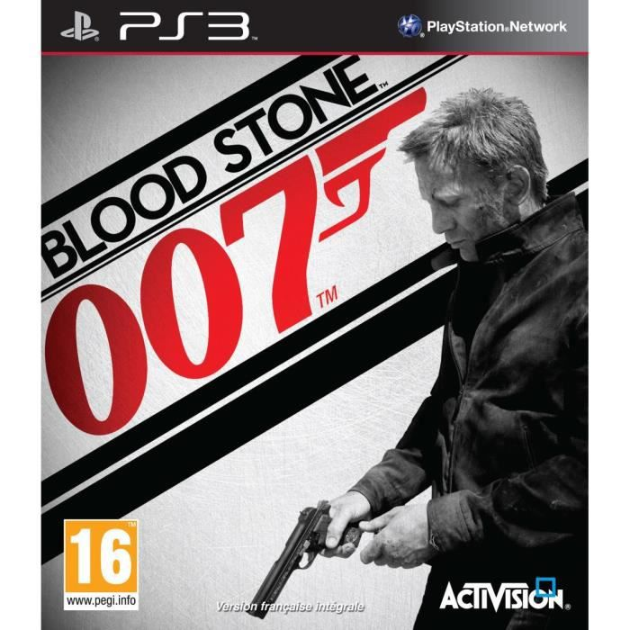 JEU PS3 JAMES BOND BLOOD STONE / Jeu console PS3