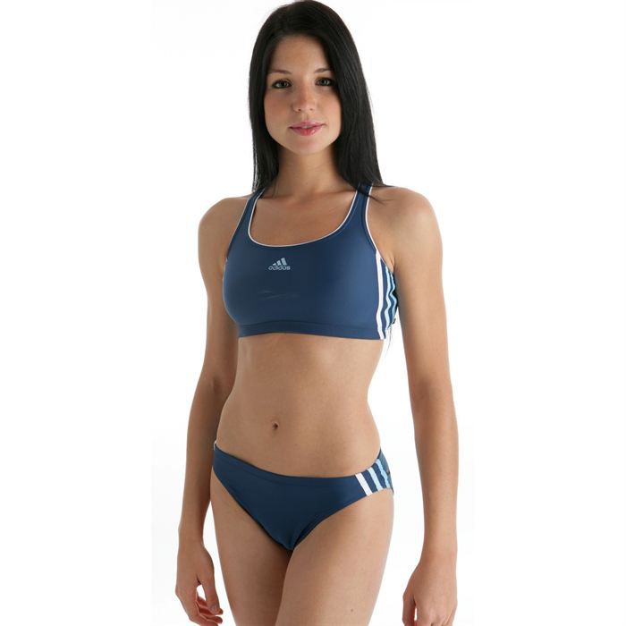 adidas maillot de bain 2 pi ces bikini plage femme prix pas cher cdiscount. Black Bedroom Furniture Sets. Home Design Ideas