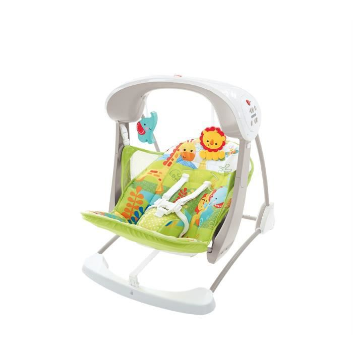 Fisher-Price Rainforest emmenons Swing and Seat
