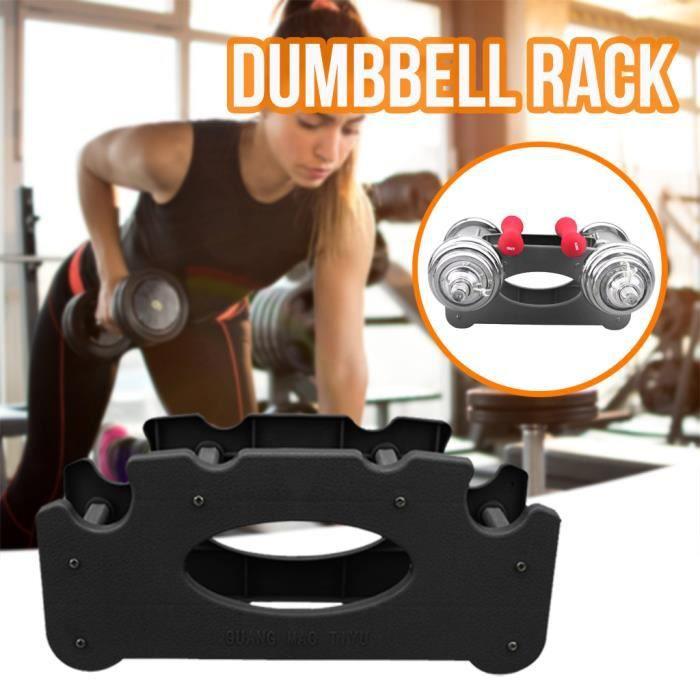 pack d'outils à main Tour de poids d'exercice de gymnastique à la maison de support d'haltère à 2 niveaux pa630