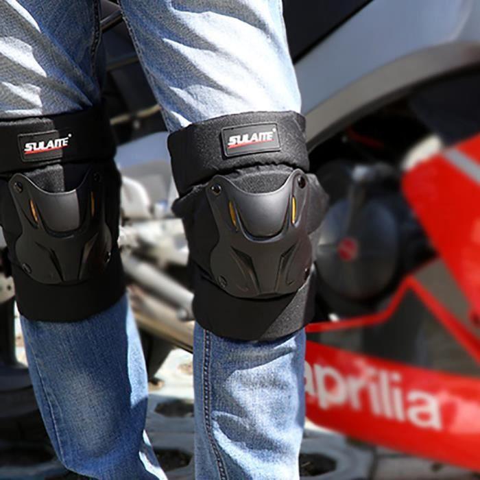 【Accessoires de vélo】Moto Motocross Racing Genouillères Protecteur Gardes Armor Gear Vélo Brace_YU12556