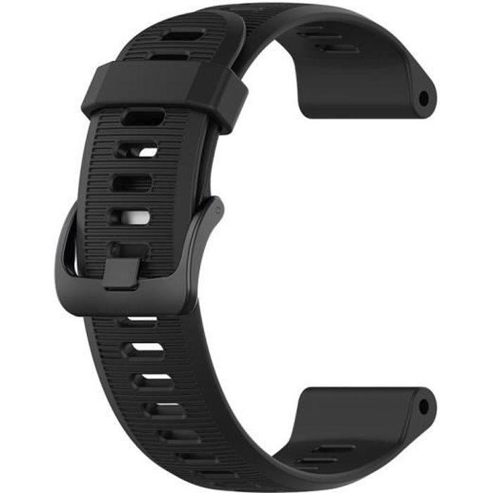 bracelet de montre vendu seul Bracelet de remplacement en silicone pour Garmin Forerunner 945-935 - Fenix 5 - Plus