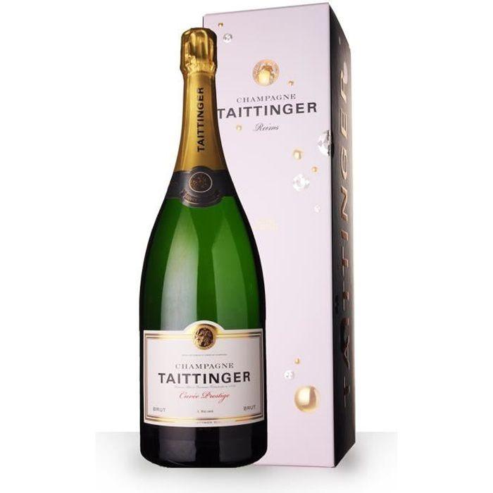 Taittinger Cuvée Prestige 150cl Magnum - Etui - Champagne