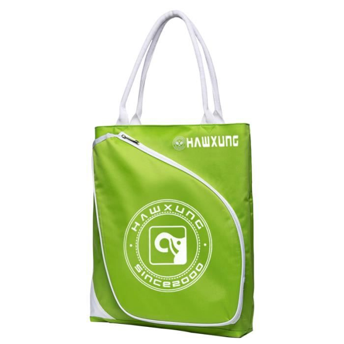 1 PC grand professionnel pratique simple raquette de badminton pochette sac de rangement étui pour batte de tennis pour femme