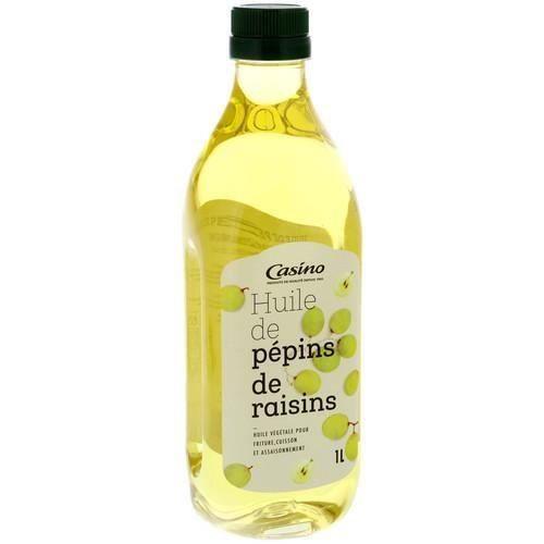 CASINO Huile de pépins de raisins - 1L