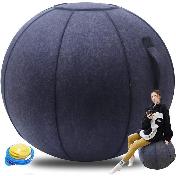 Siege Ballon Bloon Ergonomique Ballon Siege Bureau 65cm Feutre Swiss Ball Grossesse Accouchement AntidéRapante Le Pilates, Le Y 268
