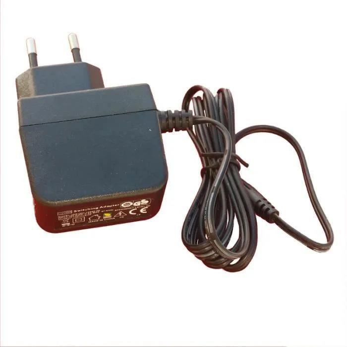 Chargeur 6V pour réveil Kidimagic et Clock VTech Kidimagic Color Show