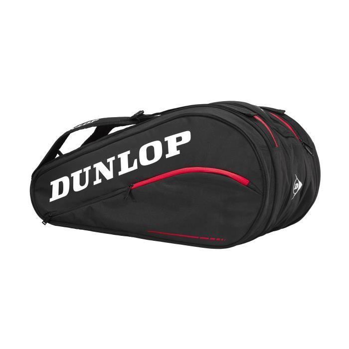 DUNLOP Sac pour raquette de tennis CX Team 12 Pack - Noir et rouge