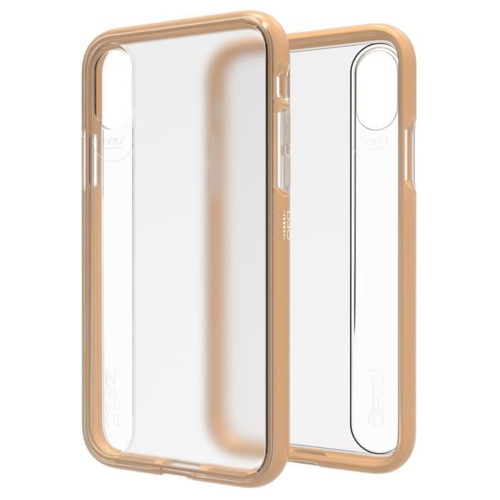 Coque Windsor gold pour iPhone X