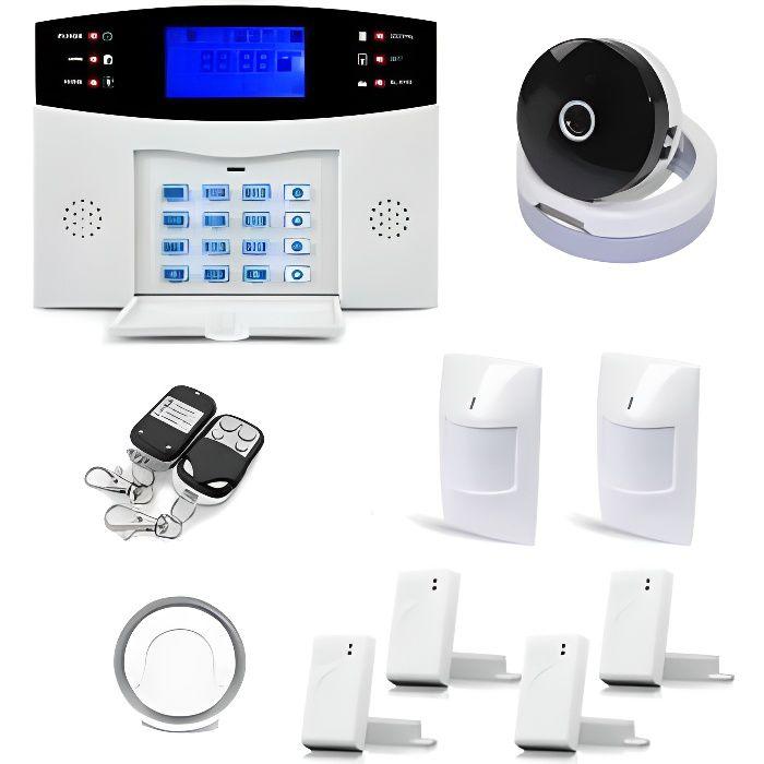 Alarme Maison Sans Fil Gsm Et Caméra Ip