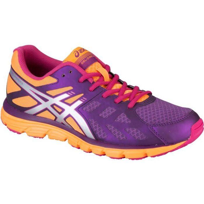 Asics Chaussures de course Gel-Zaraca 3 pour dame, Mauve, Textile, À lacets